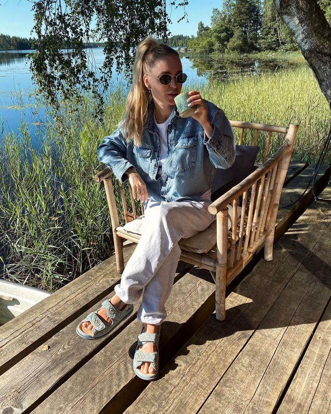 Як носити татові сандалії влітку 2021 8