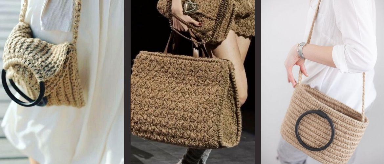 Джутовые сумки – модный эко-тренд лета
