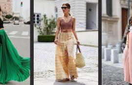 С чем носить юбку-макси: 5 самых смелых и необычных сочетаний