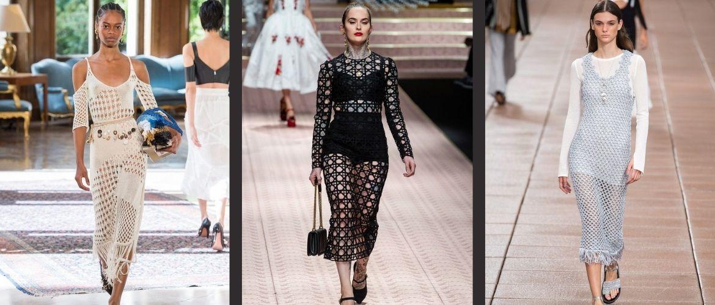 Платья в технике кроше: что выбрать модницам?