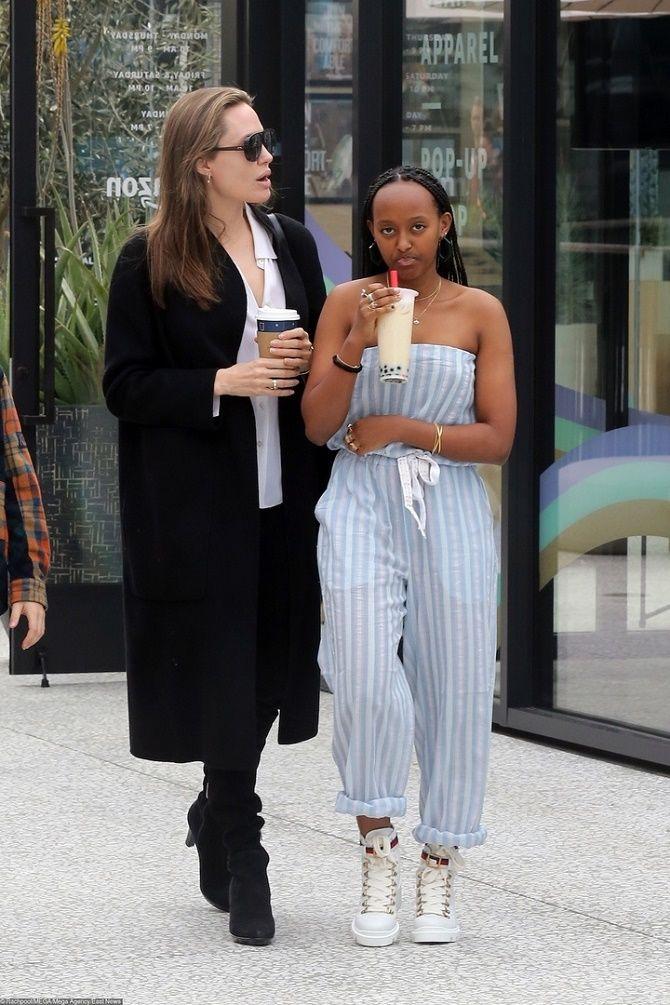 Дочка Анджеліни Джолі зіткнулася з расизмом під час операції: актриса обурена 3