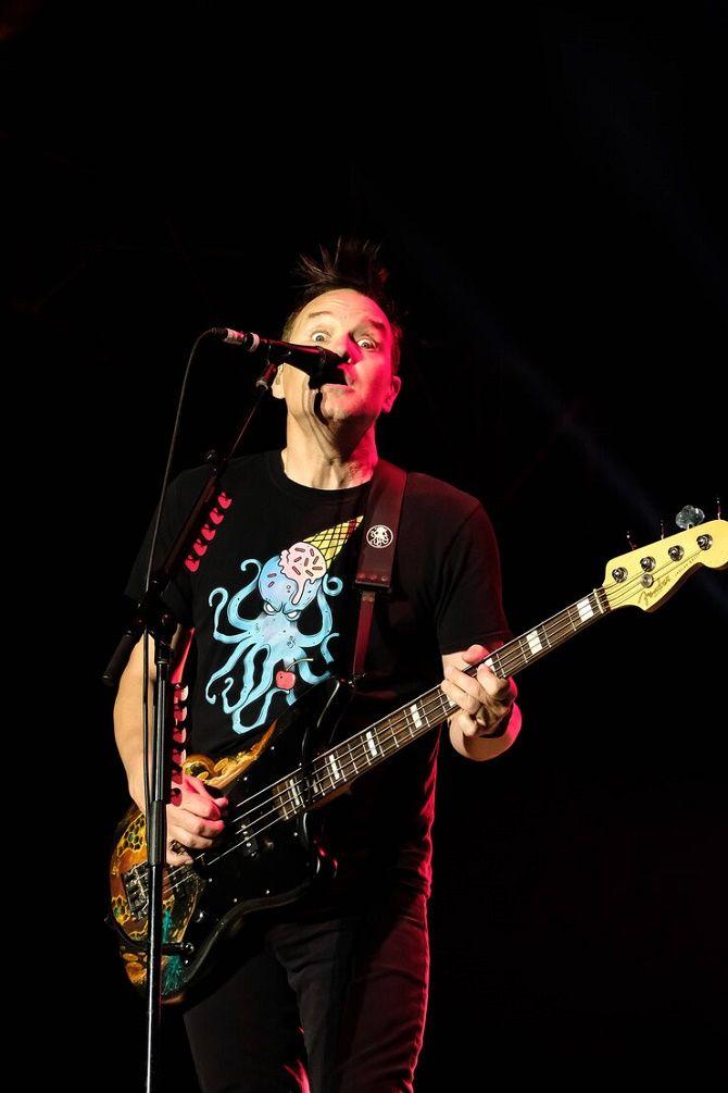 «Мне страшно»: у фронтмена Blink-182 Марка Хоппуса диагностировали рак 2