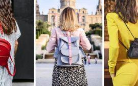 С чем носить женский рюкзак