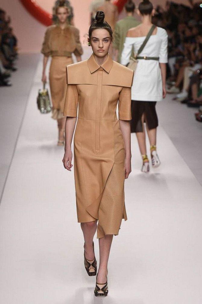 Нежнее нежного: самые модные бежевые платья 2021-2022 16