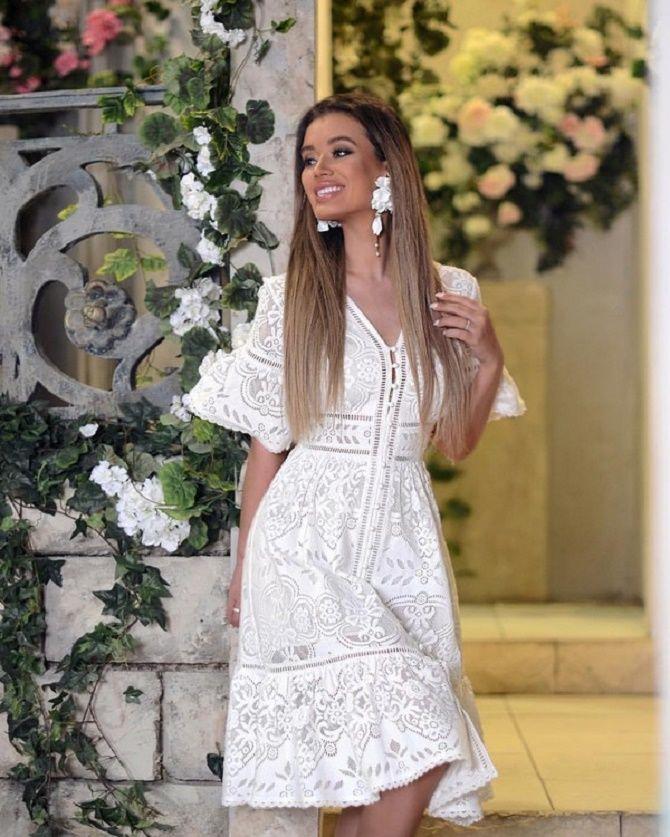 Самые красивые белые платья на лето 2021: идеи образов 2