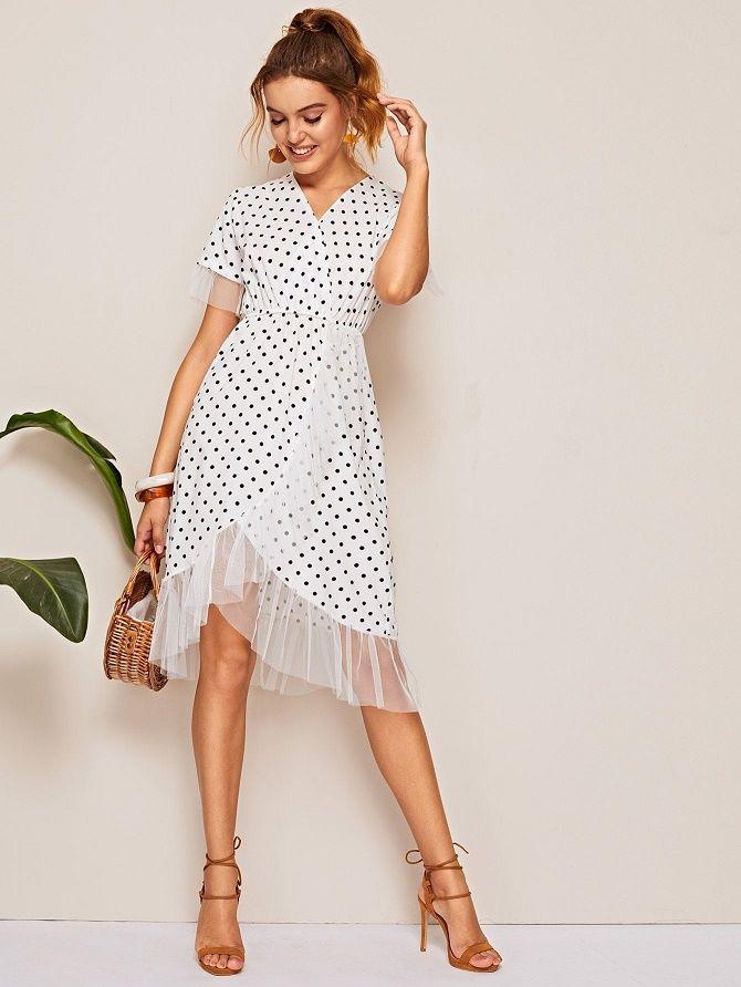 Самые красивые белые платья на лето 2021: идеи образов 11