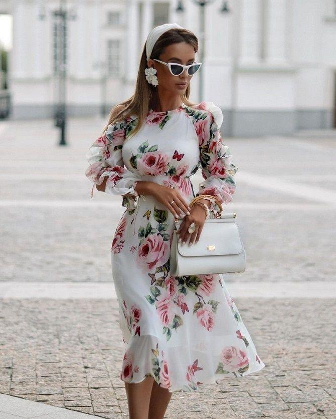Самые красивые белые платья на лето 2021: идеи образов 15