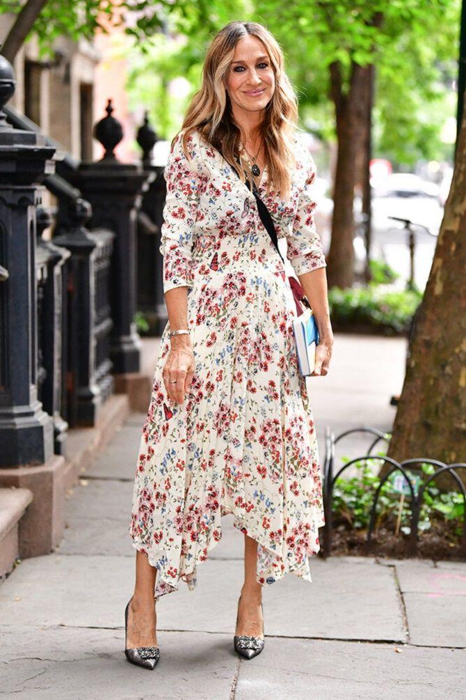 Самые красивые белые платья на лето 2021: идеи образов 17