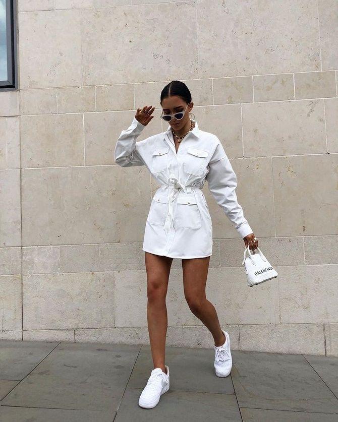 Самые красивые белые платья на лето 2021: идеи образов 4