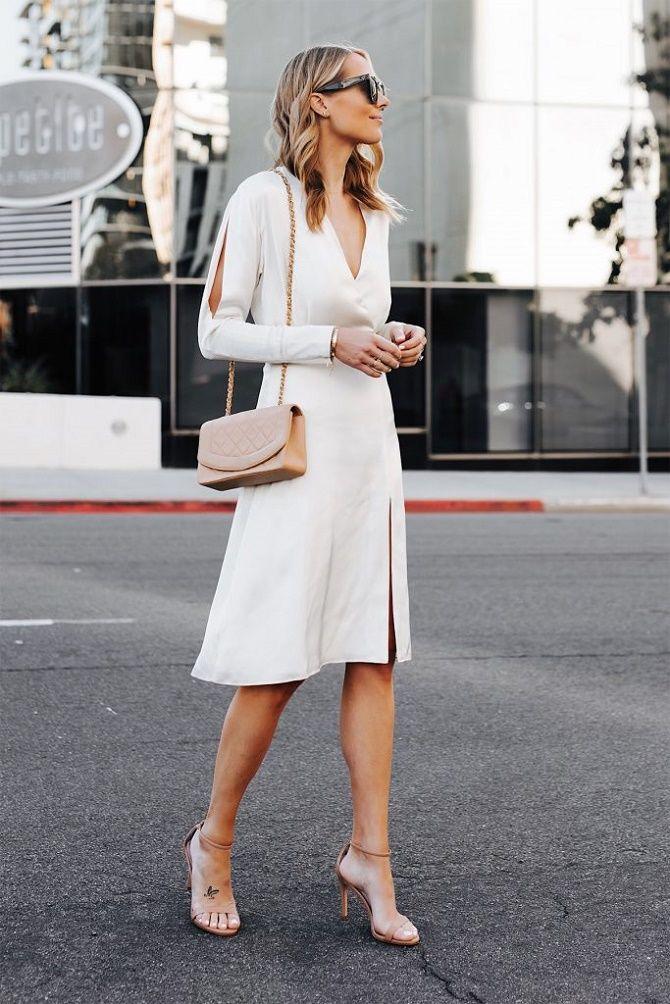 Самые красивые белые платья на лето 2021: идеи образов 5