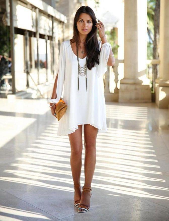 Самые красивые белые платья на лето 2021: идеи образов 6