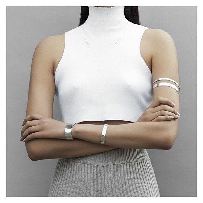 Як носити браслет-манжети 12
