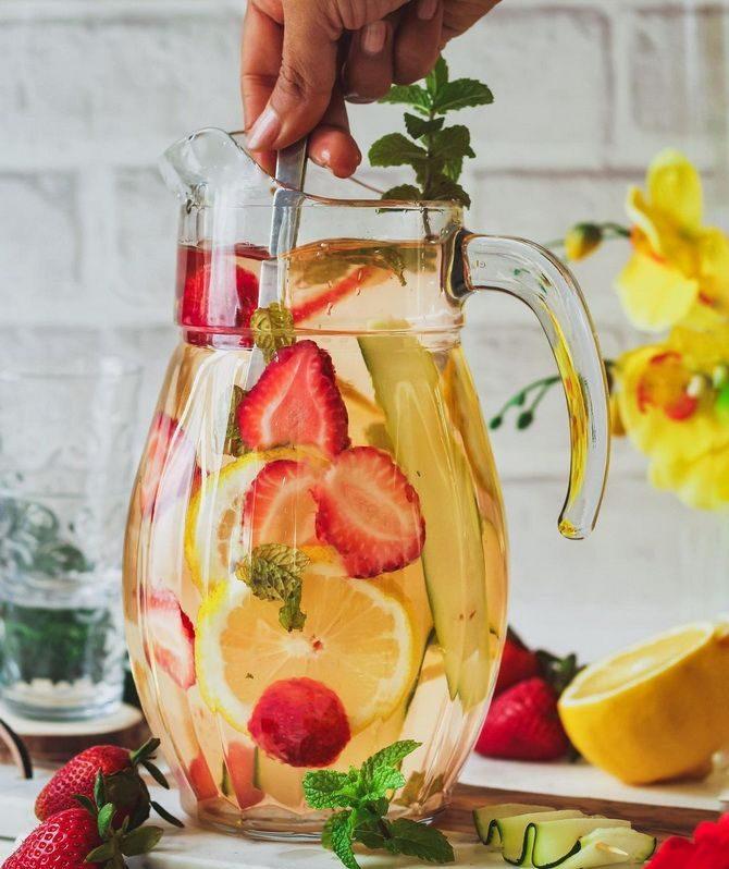 Летние детокс-напитки для похудения и очищения организма 4