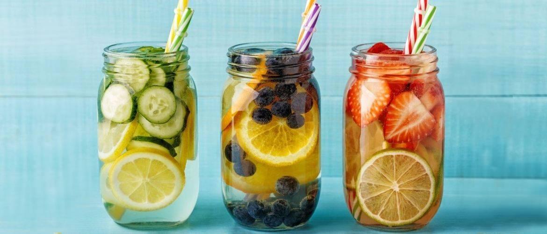 Летние детокс-напитки для похудения и очищения организма