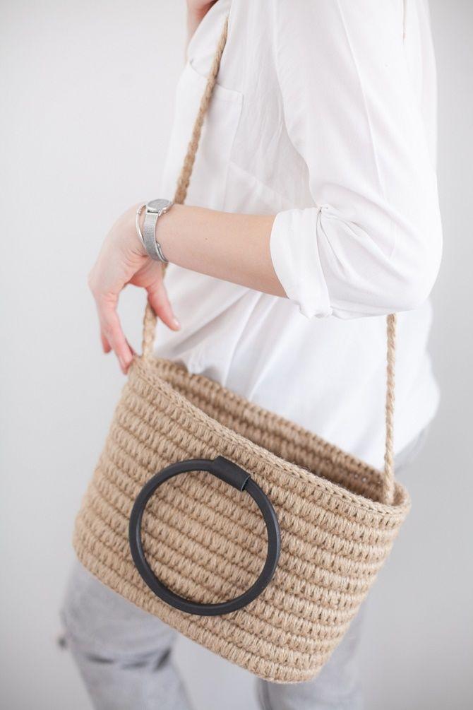 Джутовые сумки – модный эко-тренд лета 1