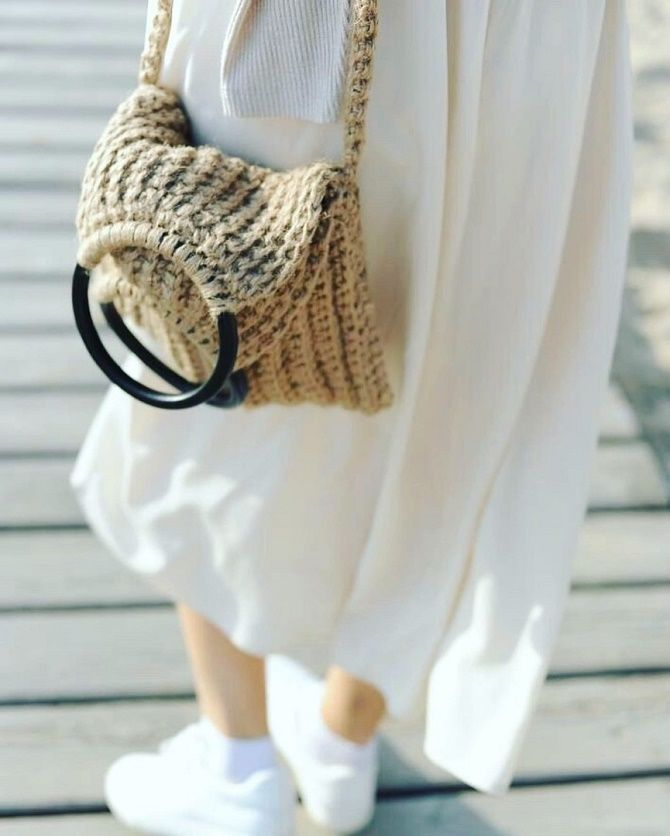 Джутовые сумки – модный эко-тренд лета 4