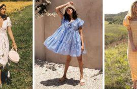 Идеальное летнее платье: скрываем недостатки фигуры