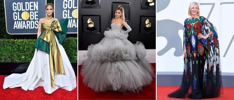 Самые запоминающиеся вечерние платья в 2020-м