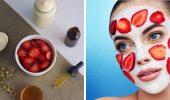 Маска из клубники — 5 домашних рецептов для сияющей кожи летом