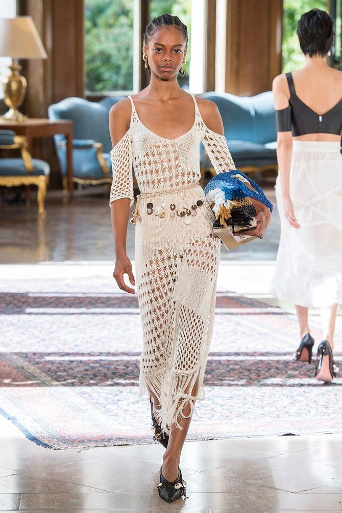 Платья в технике кроше: что выбрать модницам? 1