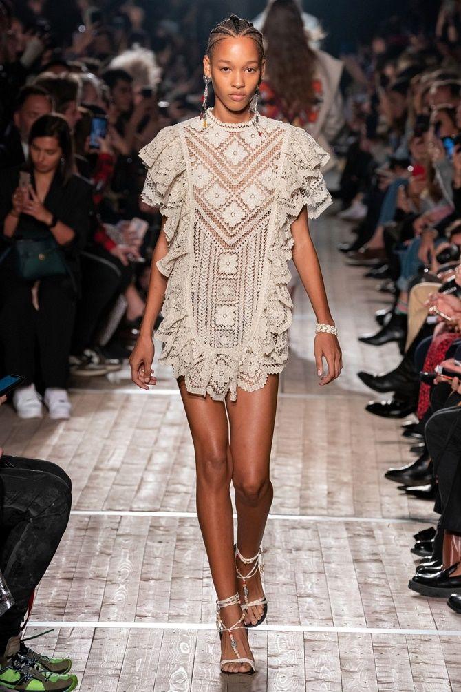 Платья в технике кроше: что выбрать модницам? 2