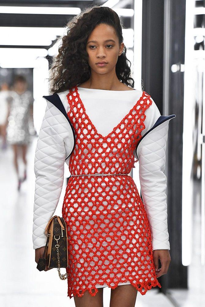 Платья в технике кроше: что выбрать модницам? 12