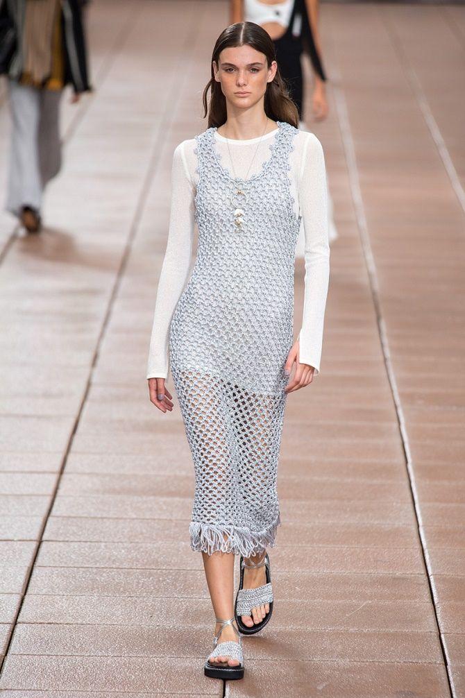 Платья в технике кроше: что выбрать модницам? 13