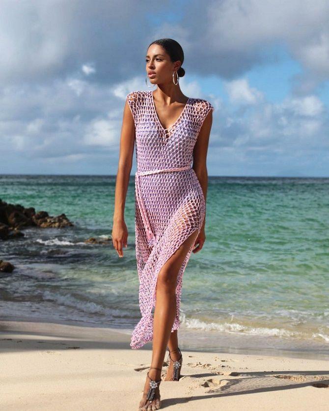 Платья в технике кроше: что выбрать модницам? 3