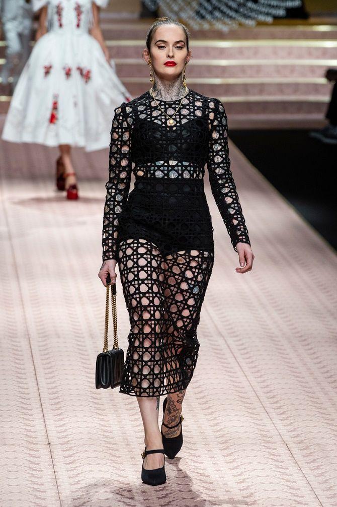 Платья в технике кроше: что выбрать модницам? 9