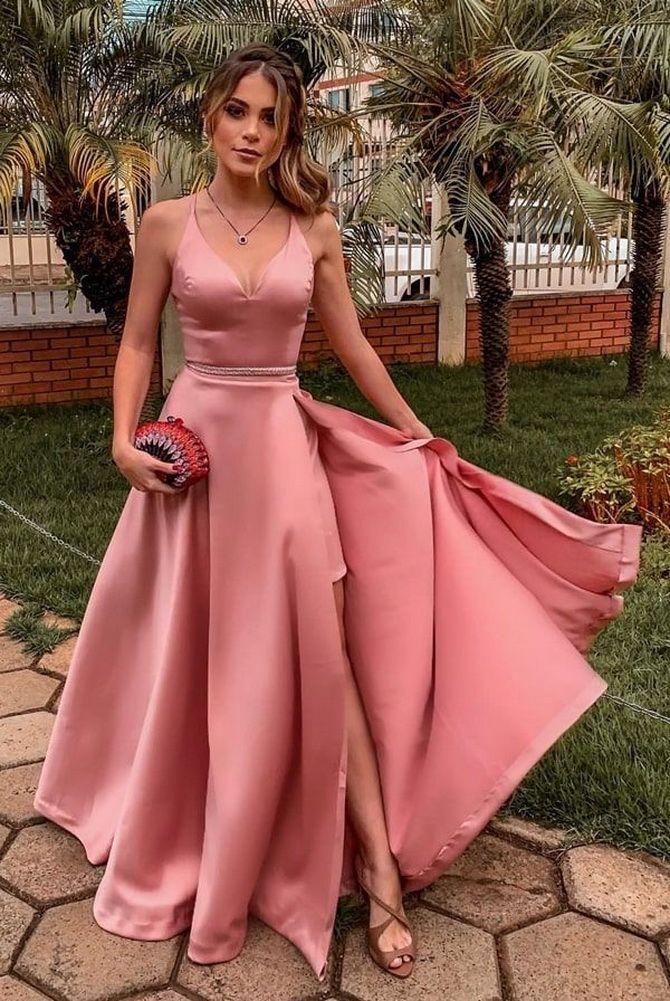 Платье на свадьбу для гостей — что выбрать для летнего торжества 11