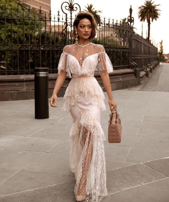 Платье на свадьбу для гостей — что выбрать для летнего торжества 5