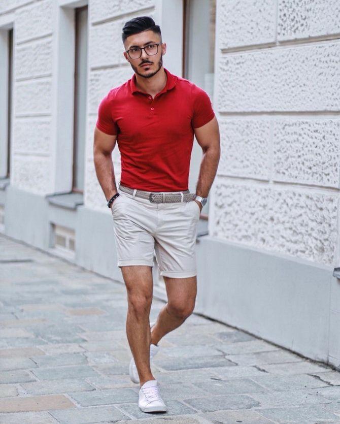 Мужская футболка поло: с чем сочетать летом 2021 11