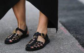 Рыбацкие сандалии — тренд на уродливую обувь продолжается