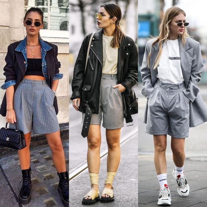 Как носить шорты с завышенной талией — модные советы 2