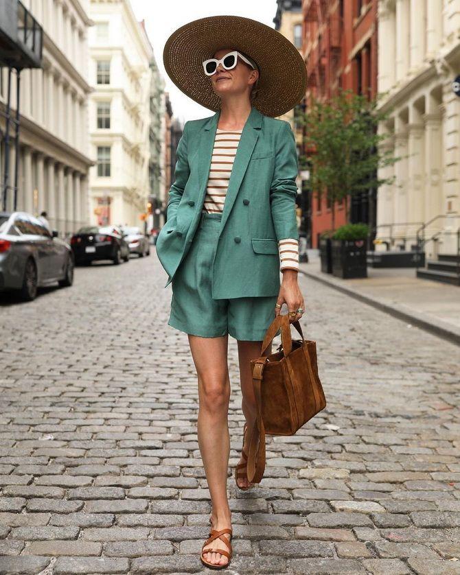 Как носить шорты с завышенной талией — модные советы 18