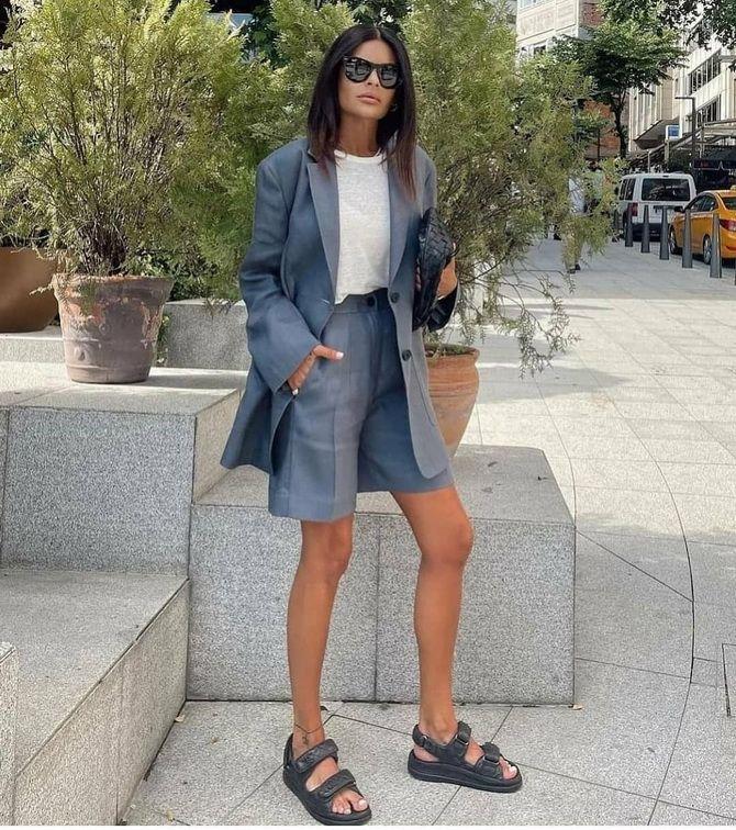 Как носить шорты с завышенной талией — модные советы 19