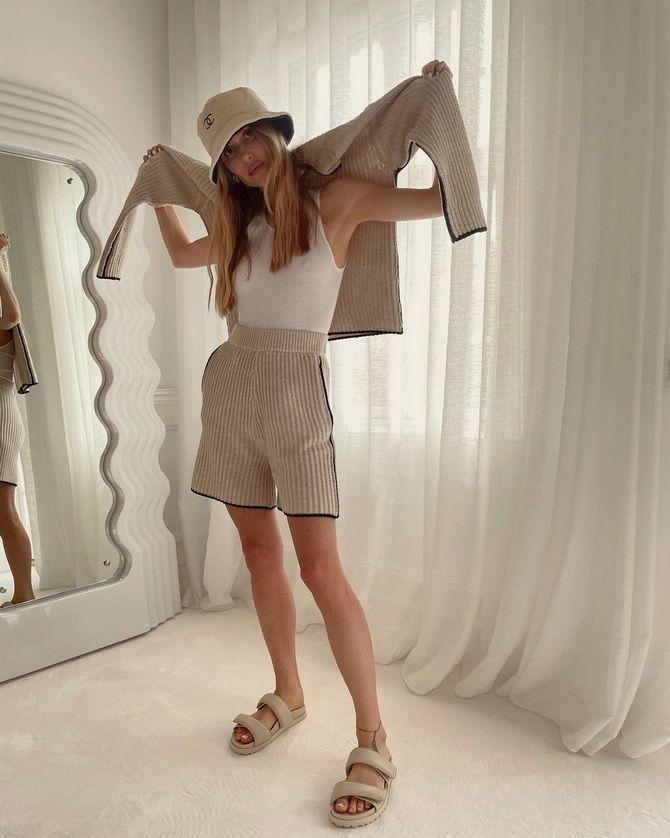 Как носить шорты с завышенной талией — модные советы 33
