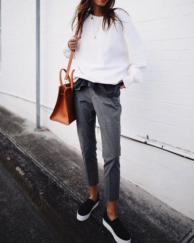 Модные слипоны – практичная альтернатива женским кедам 2