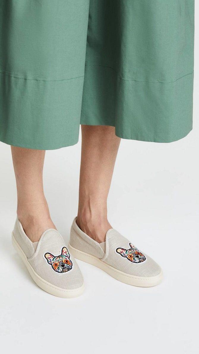Модные слипоны – практичная альтернатива женским кедам 15