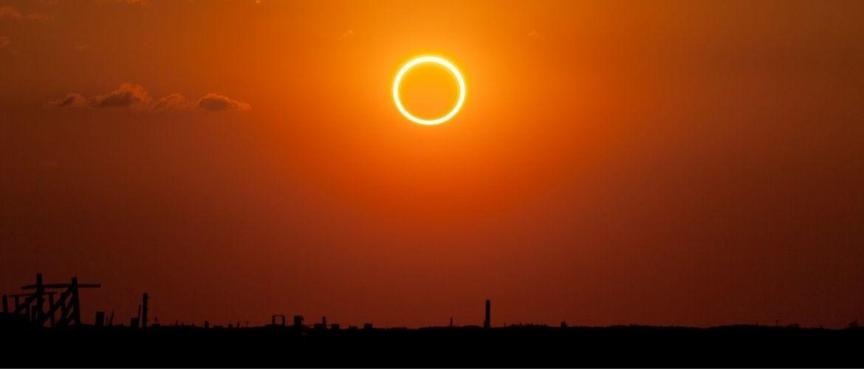 Солнечное затмение 10 июня 2021 года: огненное кольцо