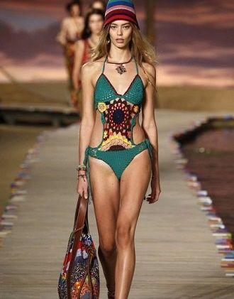 В'язаний купальник – модний тренд цього літа 1