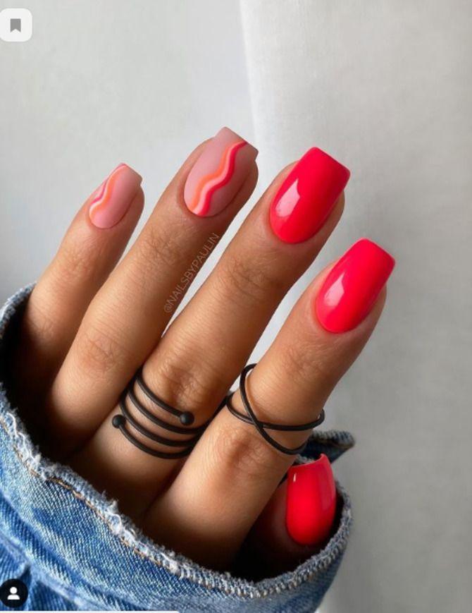 Ногти цвета лета: нейл-арт 2021 в ярких и неоновых цветах 25