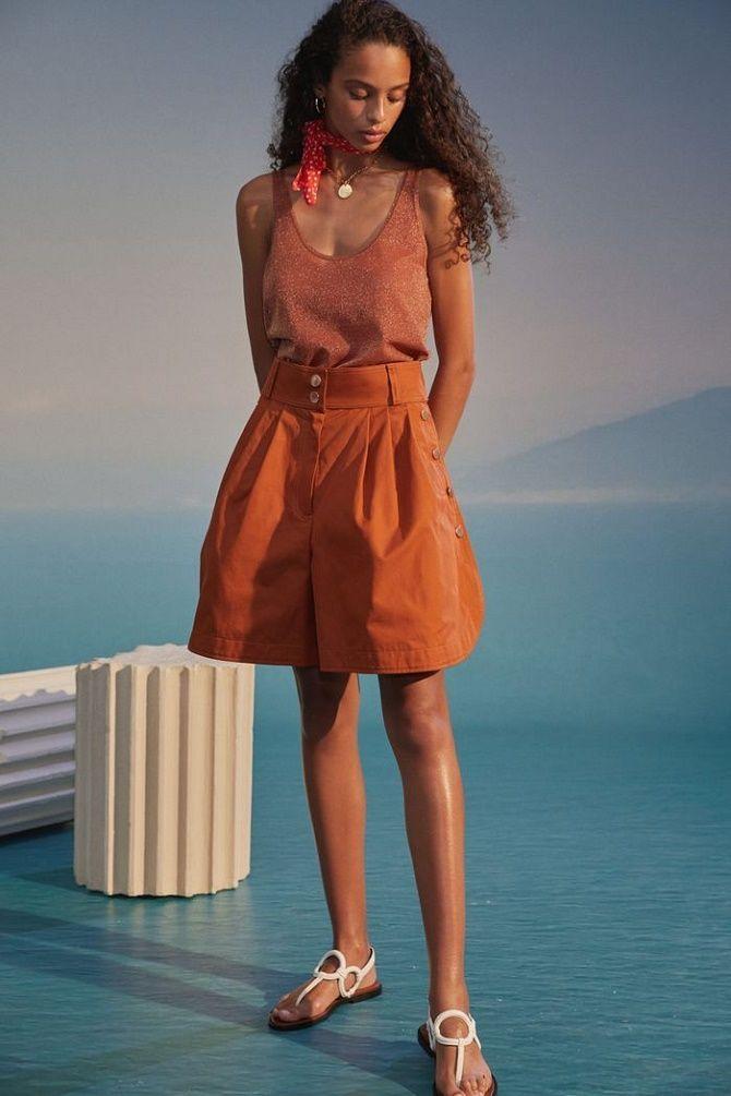 Спідниця-шорти знову в моді: з чим носити влітку 2021 року? 4