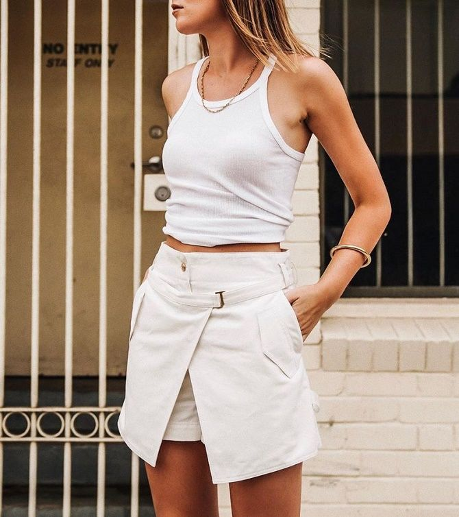 Спідниця-шорти знову в моді: з чим носити влітку 2021 року? 5