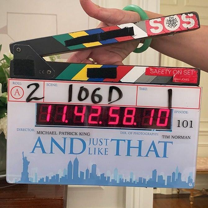 З'явилися перші офіційні кадри продовження серіалу «Секс у великому місті» 2