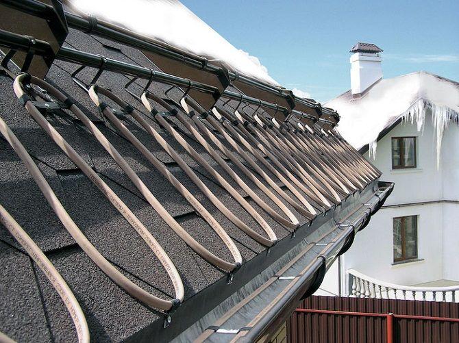 Электрический обогрев крыш — что надо знать перед монтажом системы 1