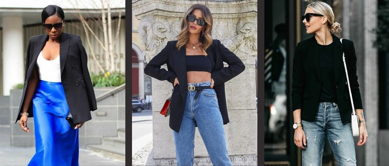 Як носити чорний піджак, щоб виглядати модно: ненудні ідеї