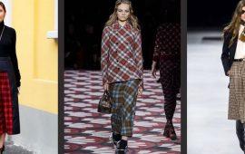 З чим носити модну спідницю в клітку: актуальні ідеї для модниць