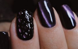 Маникюр с каплями на ногтях: стильные идеи для модниц