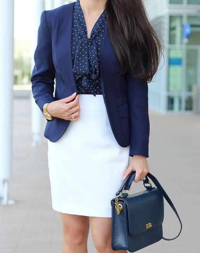 Белая юбка на лето 2021 — какие образы с ней можно создать 5